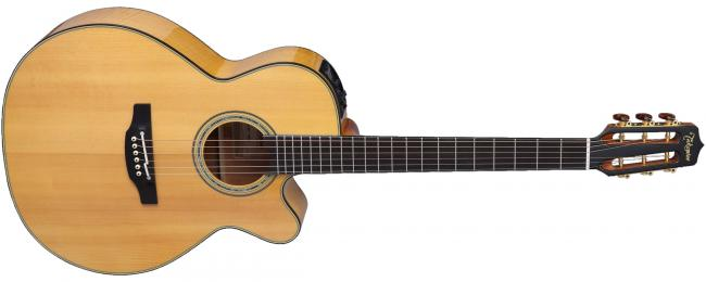 Takamine CNC-WS2 Custom Wide Neck Elektro-Akustikgitarre w/c