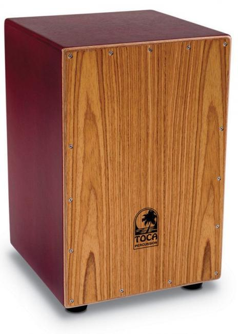 Toca Cajon Red TFCCJ-RD World Percussion