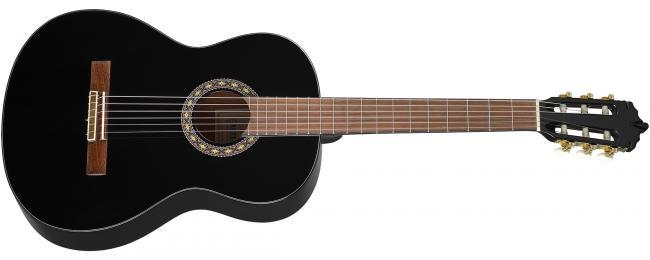 Artesano Estudiante XC2-4/4 Konzertgitarre schwarz