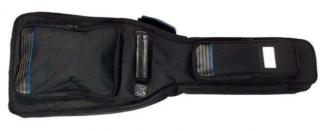 MatchBax Gig-Bag Elektrogitarre Silver Line