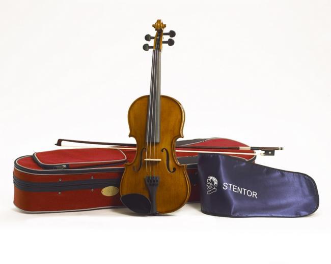 Stentor SR1500A Student II Violinen Set 4/4 Größe