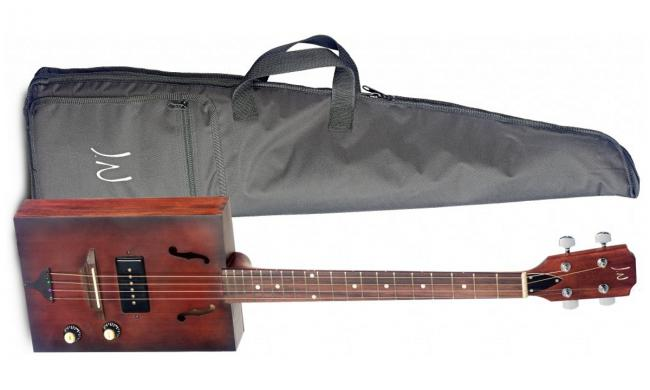 James Neligan CASK Cigar Box Guitar E-Akustik