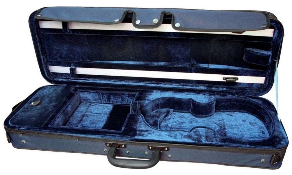 Rechteckkoffer für 3//4 4//4 Violine Koffer Violin Etui